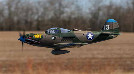 P-39 Airacobra 1.2m BNF Basic with AS3X and SAFE Select by Eflit