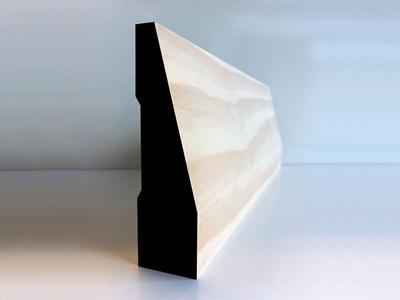 Earthen Radiata Interior Paramount Splay Skirting 110x30mm