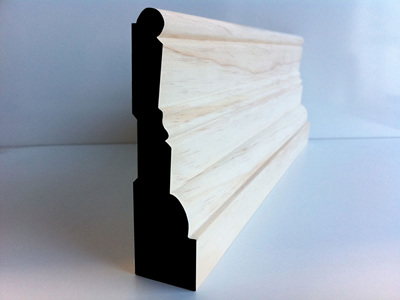 Earthen Old Style Skirting 115x30mm