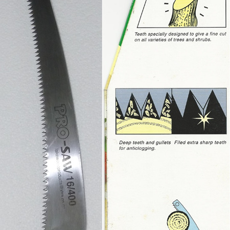 P16-400C Pro-Saw curved pruning saw