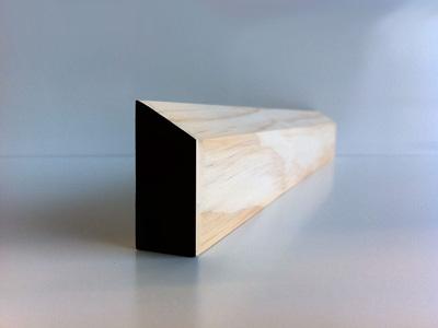 Earthen Radiata Interior Single Bevel Architrave 40 x 18mm
