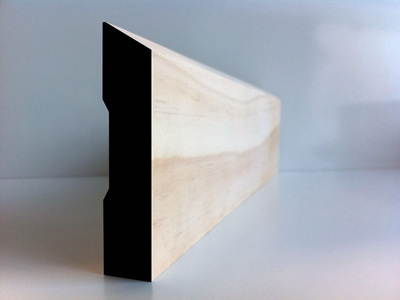 Earthen Radiata Interior Single Bevel Architrave 85x18mm