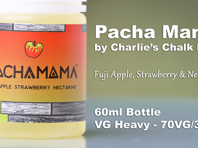 Pacha Mama - Fuji Apple, Strawberry, Nectarine - 60ml - e-Liquid