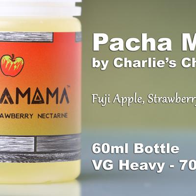 Pacha Mama - Fuji Apple, Strawberry, Nectarine - 60ml - e-Liquid