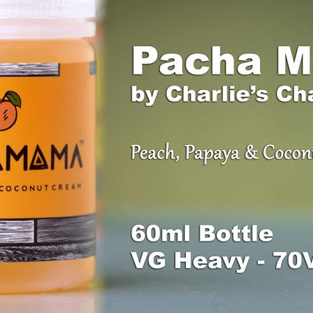 Pacha Mama - Peach, Papaya & Coconut Cream - 60ml - e-Liquid