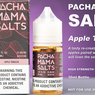 Pacha Mama Salts - Apple Tobacco - 30ml - e-Liquid