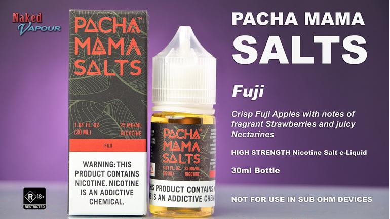 Pacha Mama Salts - Fuji - NOW available at Naked Vapour