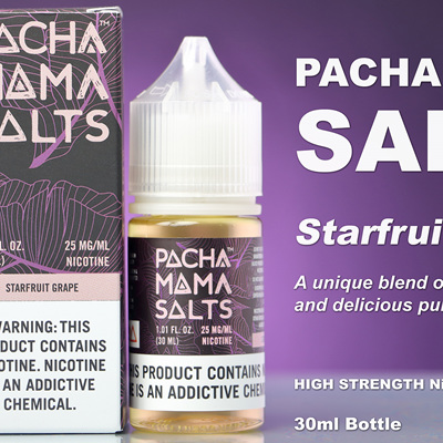 Pacha Mama Salts - Starfruit Grape - 30ml - e-Liquid