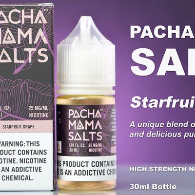 Pacha Mama Salts - Starfruit Grape - 30ml - e-Liquid