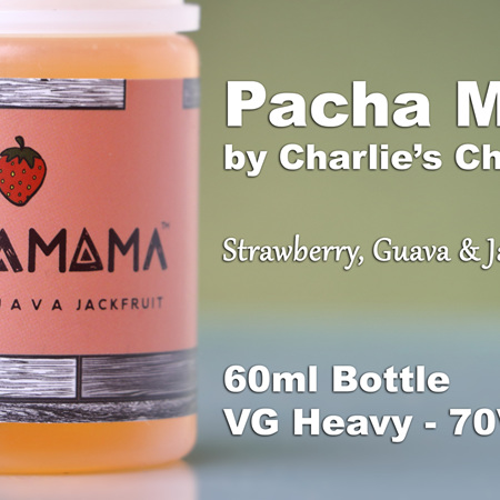Pacha Mama - Strawberry, Guava  & Jackfruit - 60ml - e-Liquid
