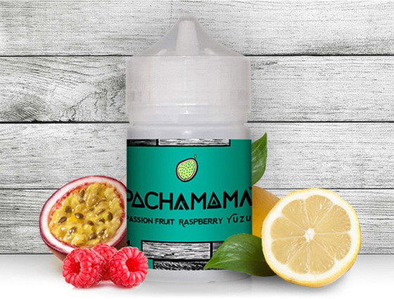 Pachamama 60ml e-Liquid range available at Naked Vapour