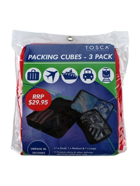 Packing Cubes - 3 in Pack