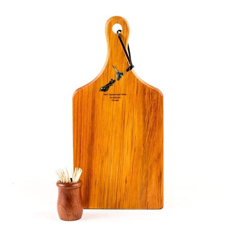 paddle board with paua koru