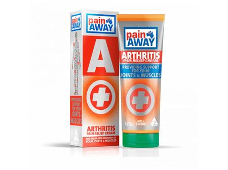 Pain Away Arthritis Pain Relief Cream 125g Tube