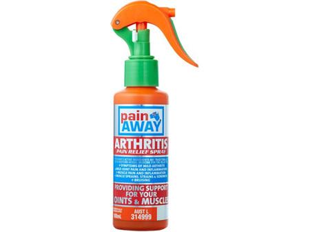 Pain Away Arthritis Pain Relief Spray 100ml