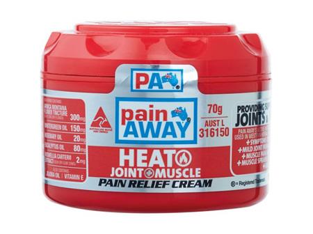Pain Away Heat Pain Relief Cream 70g