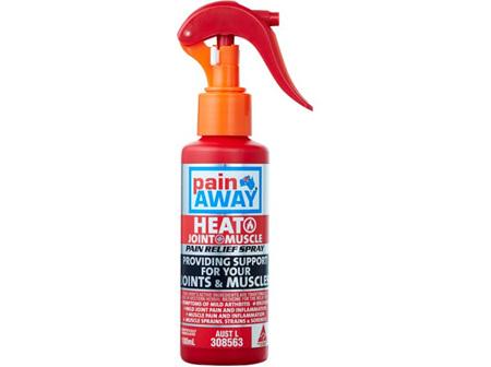 Pain Away Heat Pain Relief Spray 100ml