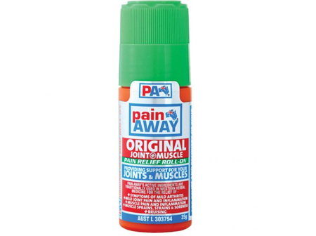 Pain Away Original Pain Relief Roll-On Lotion 35g