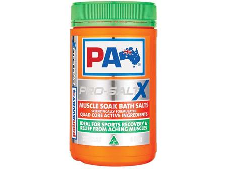 Pain Away Pro-Salt X Muscle Soak Bath Salts 600g
