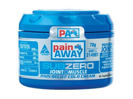 Pain Away Sub Zero Pain Relief Cold Cream 70g