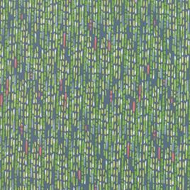 Painted Meadow Teal Watercolor Stripe 4866412