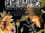 Painterly Florals IOD Decor Transfer