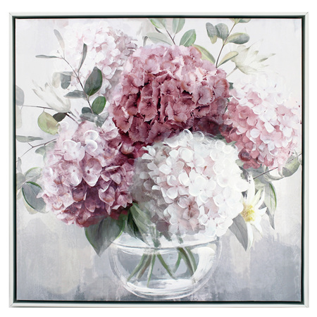 Painting Blossom Posy 63x63cm
