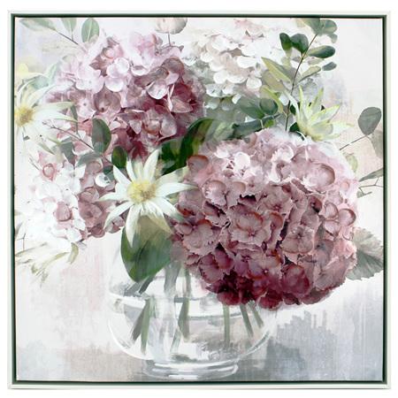 Painting Daisy Posy 63x63cm