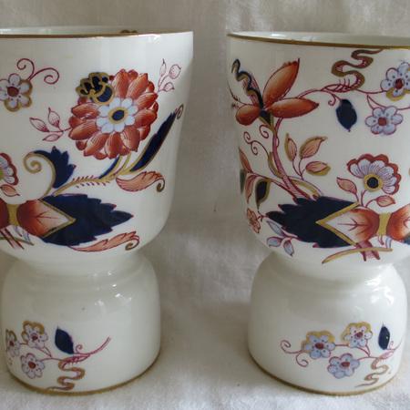 Pair Booth's Imari pattern