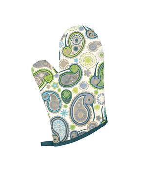Paisley Kiwi Oven Glove