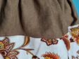 Paisley Linen Skirt Size 4-6