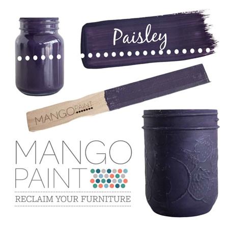 Paisley Mango Paint