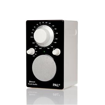 PAL BLACK/WHITE BLUETOOTH PORTABLE RADIO