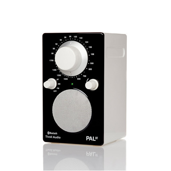 PAL BLACK/WHITE BLUETOOTH PORTABLE RADIO