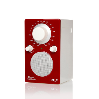 PAL RED/WHITE BLUETOOTH PORTABLE RADIO