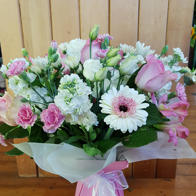 Pale Pink and White Bouquet