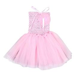 PALE PINK TUTU DRESS SIZE 0-2 YRS