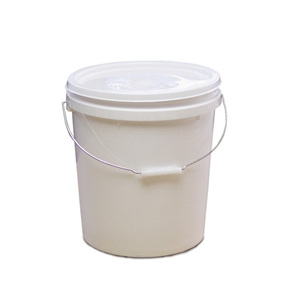 Pallet of 10L Food Grade Plastic Buckets with Lids