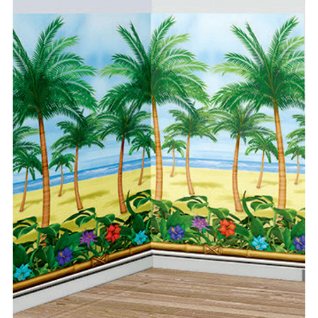 Palm Tree room roll scene