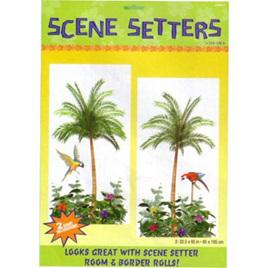 Palm trees scene setter
