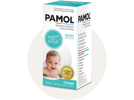 Pamol Infant Drops