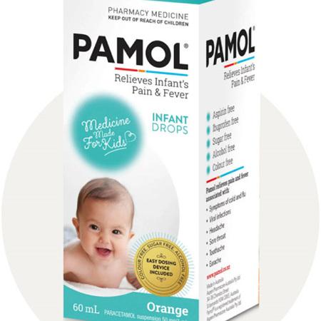 Pamol Infant Drops