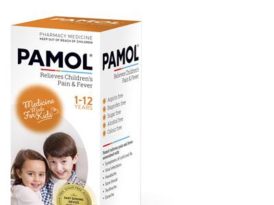 Pamol Orange 100mL