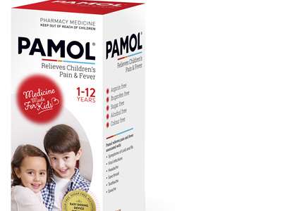 Pamol Strawberry 200mL