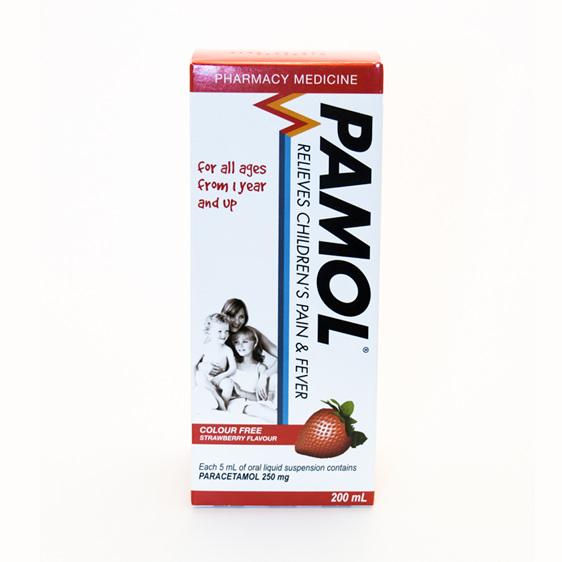 Pamol Strawberry