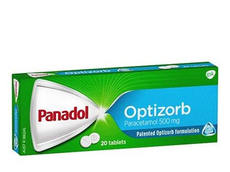PANADOL 500MG OPTIZORB CAPLETS
