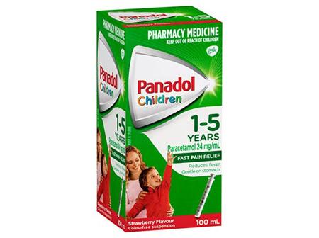 PANADOL CHILD 1-5YR 200ML STRW