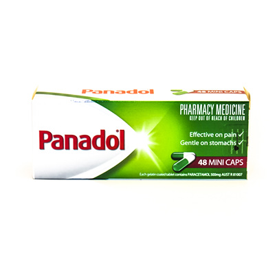 Panadol Minicaps