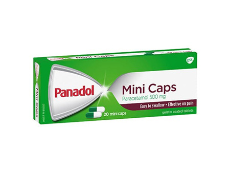 PANADOL MINI CAPS 48