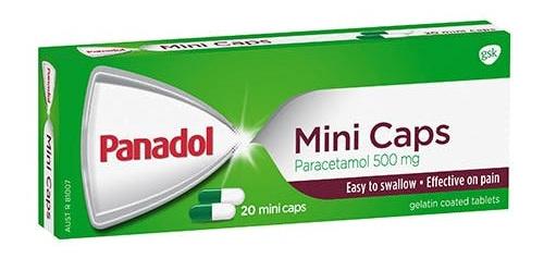 Panadol Mini Caps